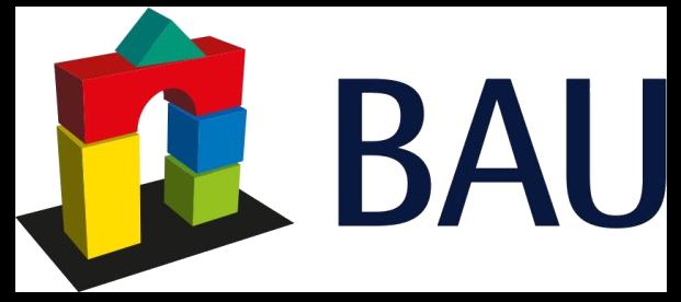 Logo der Messe BAU, München