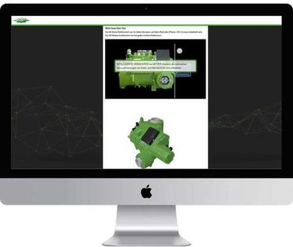 Digitale Produktbroschuere mit interaktiver Produktdarstellung