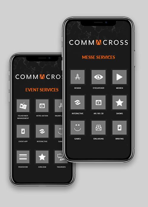 Info-App für die Themen Messen und Events mit weiteren Informationen