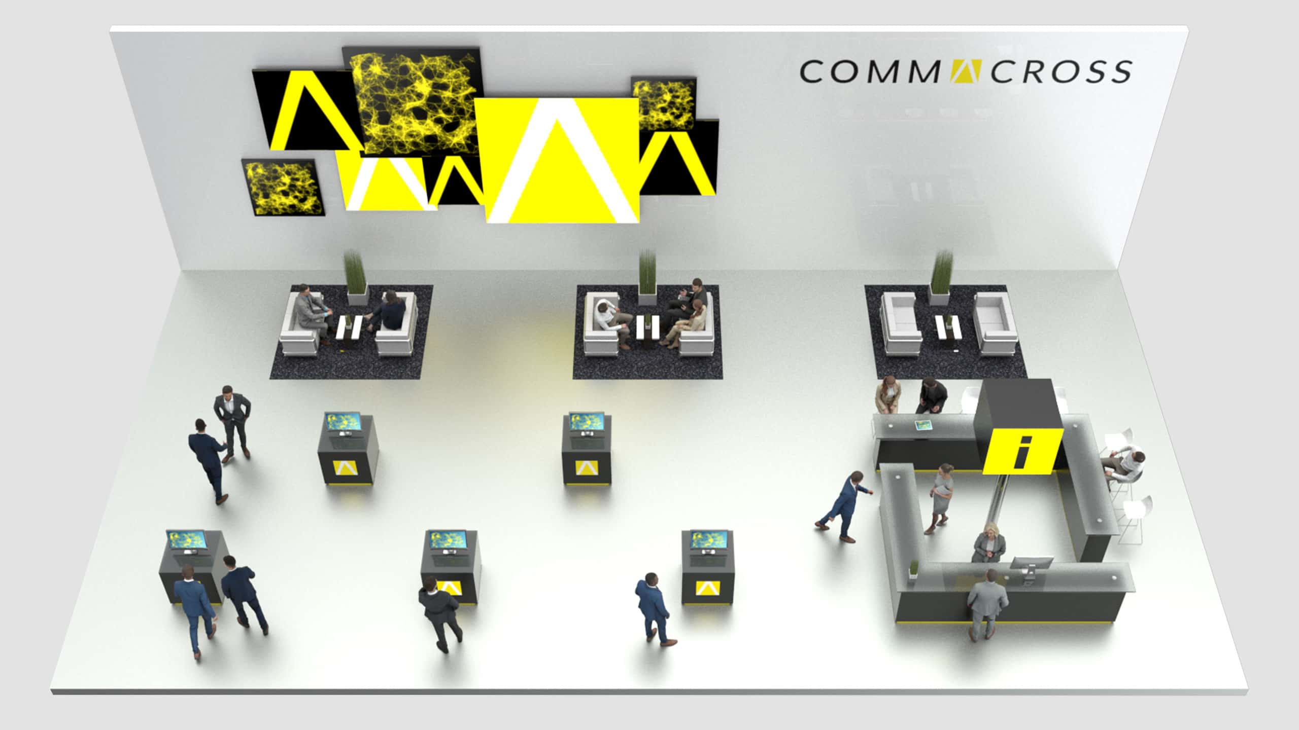 commacross virtueller Messestand g6 min