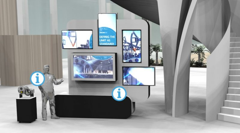 Digitale Produktpräsentation mit Eyecatcher und Medien von commacross