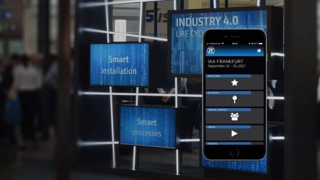 Messeapp fuer digitale Besucherinformation, digital und innovativ