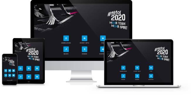 Mobile Event Guide / Event-App zur Anmeldung, vereinfachtes und digitalisiertes Teilnehmermanagement